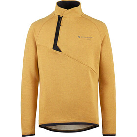 Klättermusen Falen Crew Sweatshirt Heren, honey